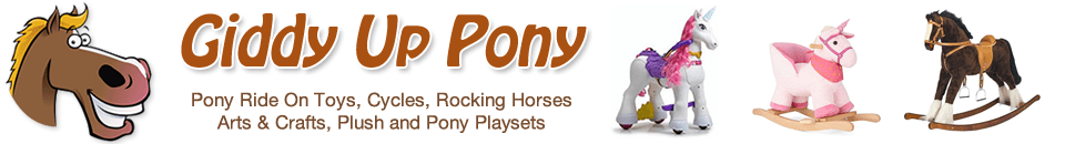Pony Cycles Rocking Horses Unicorns Crafts and Interactive Pony Toys