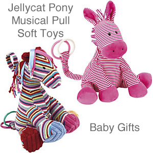 Jellycat pony toys musical pull along interactive baby toy
