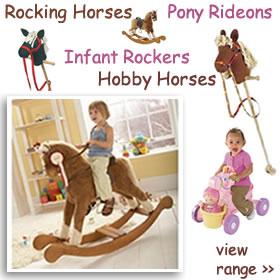 Rocking Horses & Rideon Ponies